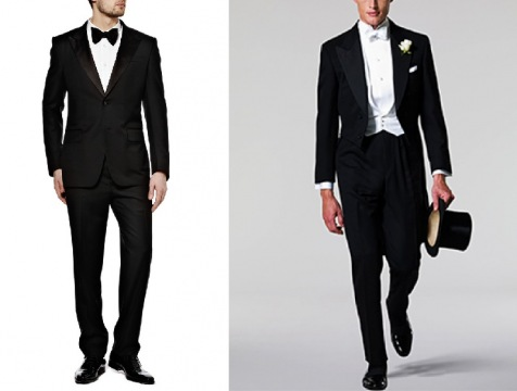 Rules For Men's Formal Wear Picture