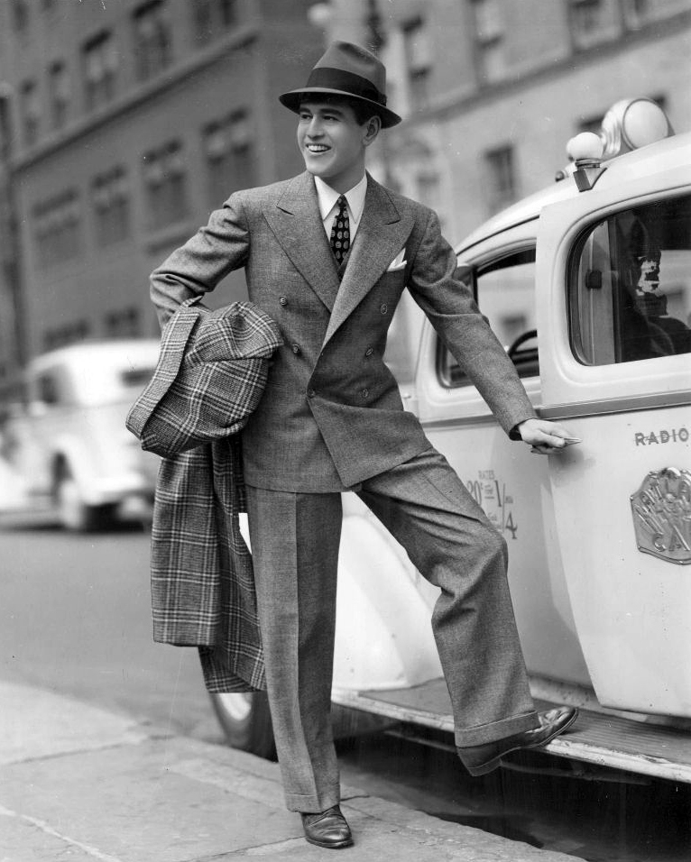 The 1940s Men Fashion Description