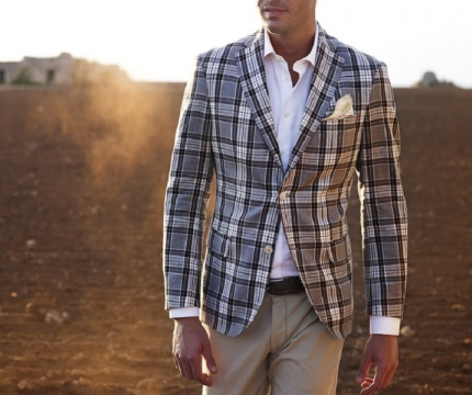 The Checkered Tailoring Trend Picture